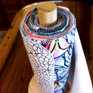 12 Handmade Unpaper Towels – Prints
