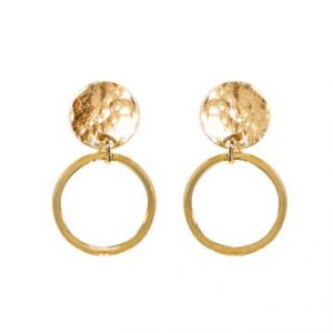 Noble Earrings brass