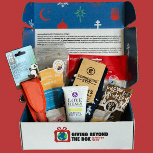 """Giving Beyond The Box   The """"Holiday Box of Light"""""""