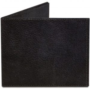 Black Leather Mighty Wallet