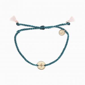 Rose Gold Compass Bracelet ASST