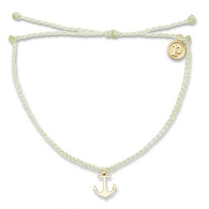 Gold Anchor Bracelet MINT