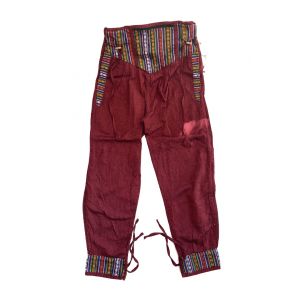 Dhaka Pocket Ruby Pants