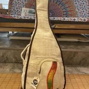 Handmade Hemp Padded Guitar Case – Wave