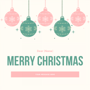 Merry Christmas – Ornaments